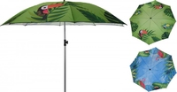 Kids Beach Umbrella With Animal Print