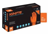 Aurelia Ignite Heavy Duty Nitrile Gloves Orange