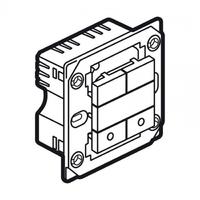 Arteor Switch (2x400W) Square - White  | LV0501.2636