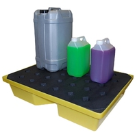 Spill Tray with grid deck 43 l capacity