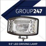 "COMBO LED DRIVING LAMP 9.5"""