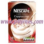 Nescafe Cappuccino Sachets Original 10Pk x6