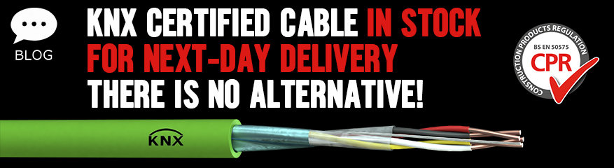 KNX Certified Cable In Stock For Next Day Delivery