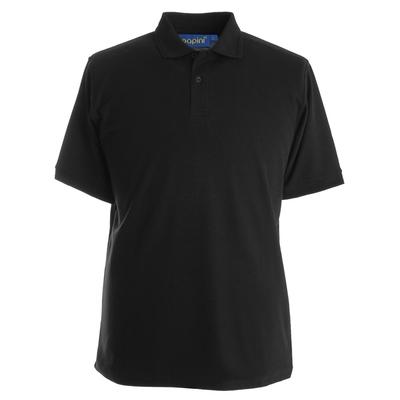 Papini Black Elite Polo Shirts
