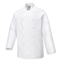 Portwest Sussex Chef Jacket White