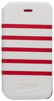 Jean Paul Gautier iPhone 5 Red/White Folio