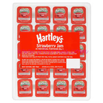 Hartleys Strawberry Jam 20g x100