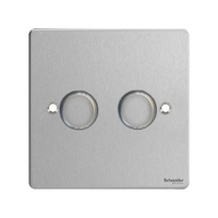 Dimmer switch Ultimate 2 Gang 2 Way Dimmer Stainless Steel