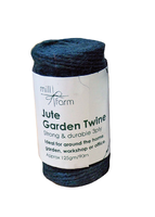 Mill Farm Green Jute Twine Small 125g Spool (HDNT50)