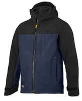 Snickers Navy/Black Waterproof Shell Jacket