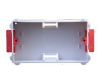 2 GANG 35MM DRY LINING BOX  FLAT PLATE