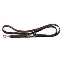 Ferplast VIP Bull Leather Training Lead 22mm x 120-200mm x 1