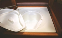 Replacement Commode Bucket & Lid (Wooden Commode)