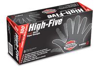 Black Nitrile Gloves Box 100