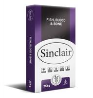 Sinclair Fertiliser Fish Blood & Bone 25kg