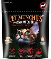 Pet Munchies Cat Treats - Gourmet Beef Liver 10g x 8