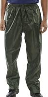 B-Dri Nylon Trousers Olive