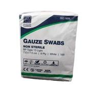 SWABS - NON-STERILE GAUZE 10 X 10CM PK 100