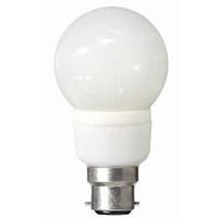 Solus 7 Watt BC Round CFL
