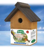 Supa Multi-Purpose Wild Bird Nest Box x 1