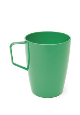 Beaker with Handle Emerald Green Polycarbonate 10oz 280ml