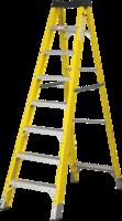 10 Step Single-Sided Fibreglass Step Ladder