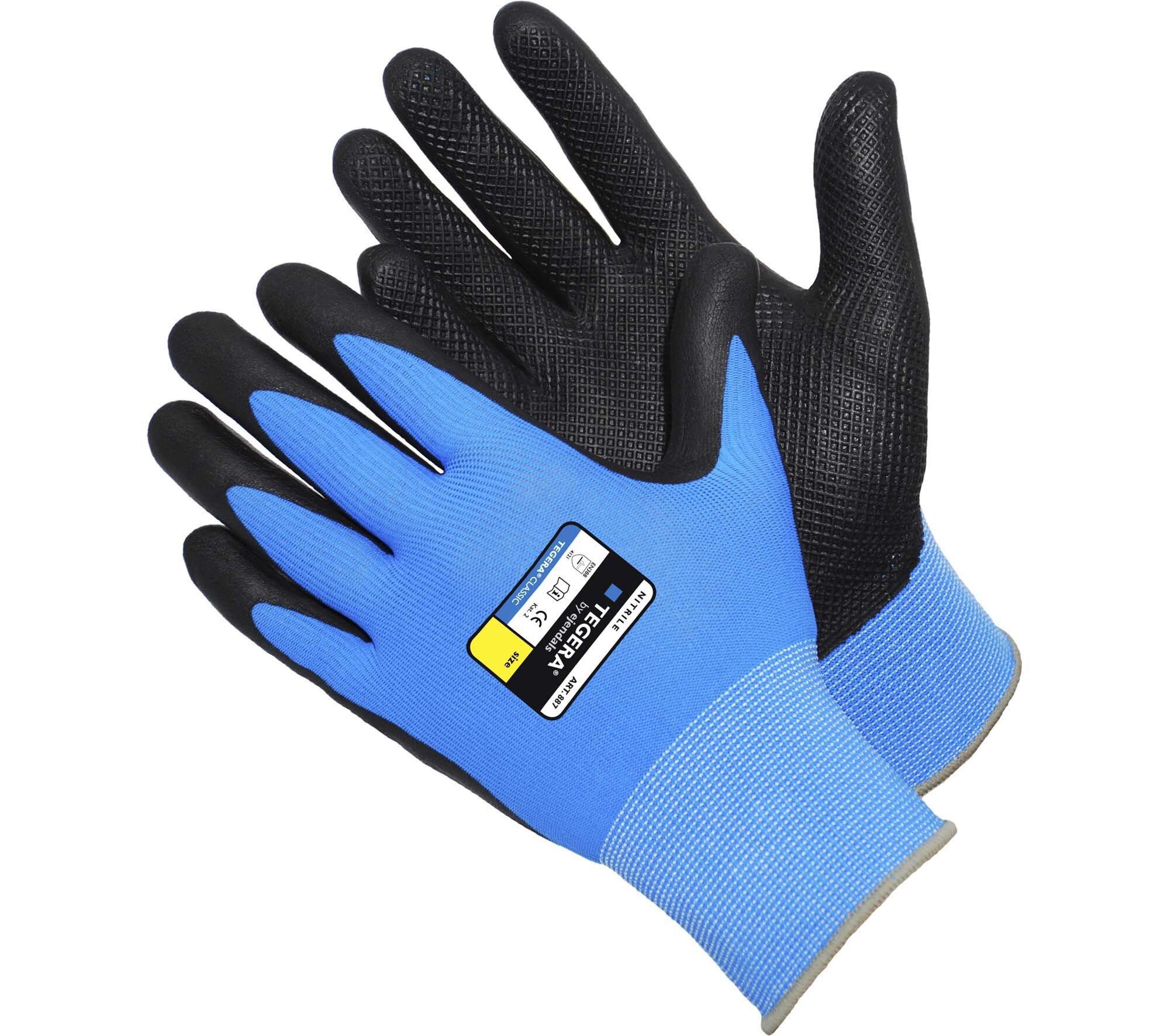 TEGERA 887 Nitrile Foam Coated Glove (Pair)