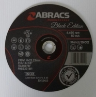 ABRACS BLACK EDITION 230 X 1.8MM X 22MM CUTTING DISC