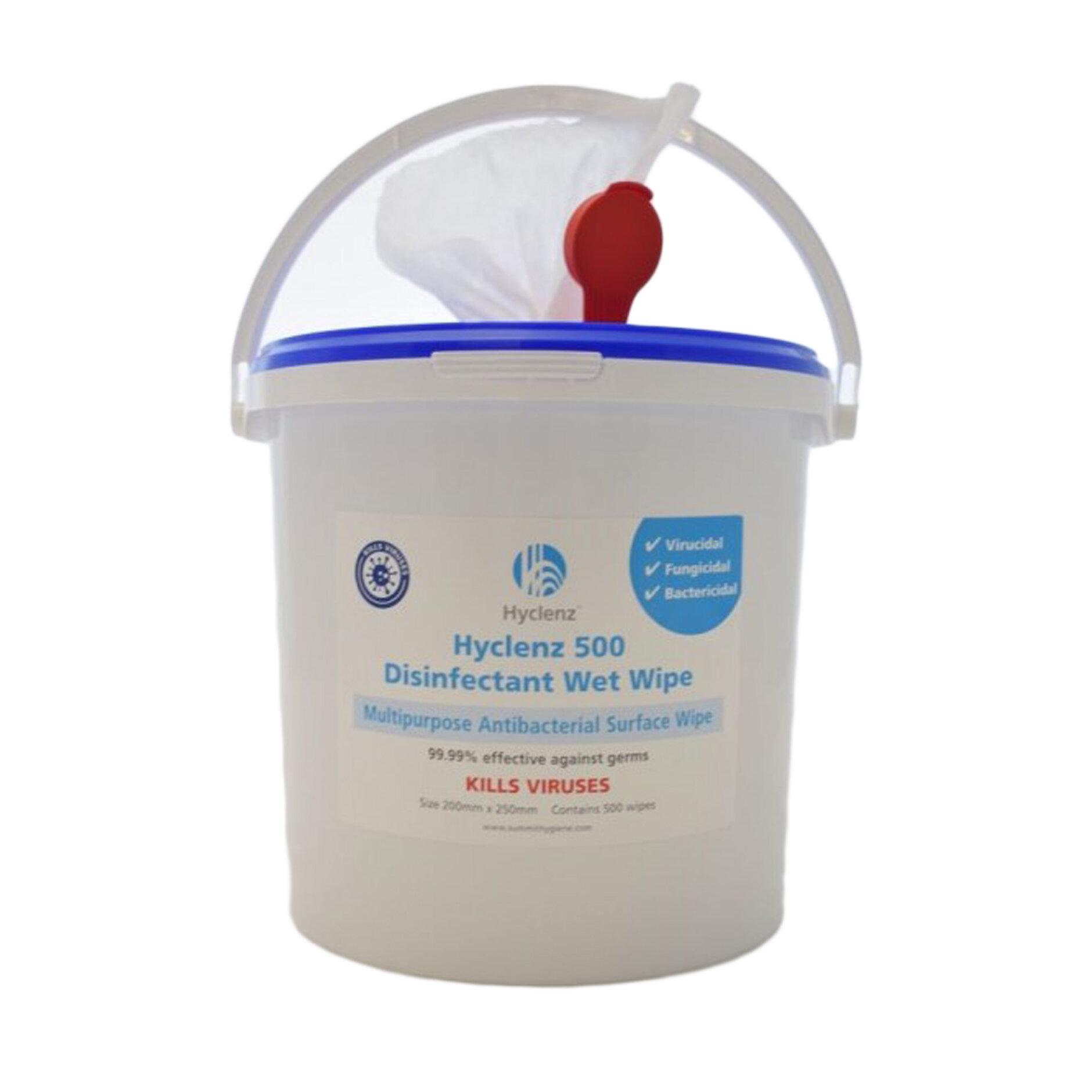 Hyclenz 500 Disinfectant Wipe (Bucket)