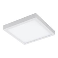 EGLO Fueva 1 LED White Square Ceiling Light LED 22w 3000k | LV1902.0065