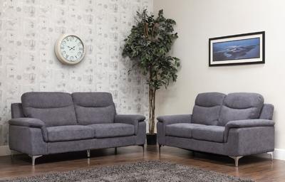Mario Grey Sofa 2