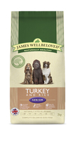 James Wellbeloved Senior Dog - Turkey & Rice 2kg