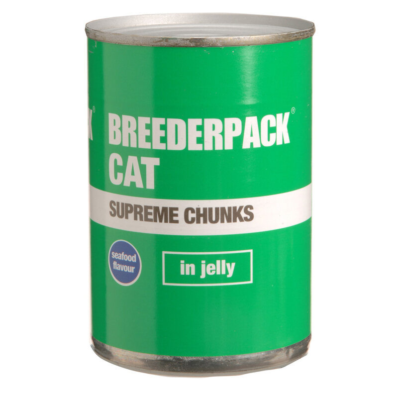 Breederpack Supreme Chunks Cat in Jelly 12 x 400g