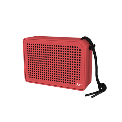 Kitsound Boxi Speaker in Red