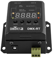 CHAUVET DJ DMX-RT Compact DMX Recording Device w/Triggerable PlaybackLED Light Controllers