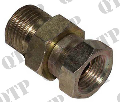 "Adaptor 1/2"" Male x 3/8"" Female BSP"