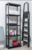 Universal Pro Shelves Black (W60 X D30 X H180 Cm)