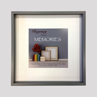 Memories Box Frame Grey 50 x 50cm
