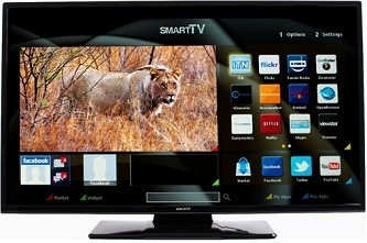 """Walker 40"""" Full HD Smart LED TV with Wifi & Satellite Tuner - Saorview Approved"""