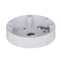 IC Realtime White - Round Junction Base for Large Dome Cameras