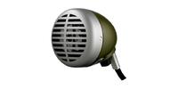 "Shure 520DX | ""Green Bullet"" Harmonica Microphone"