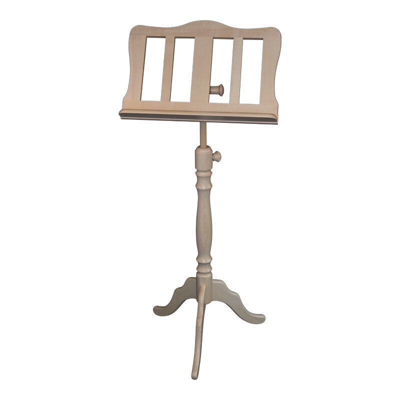 Wooden music stand, baroque style