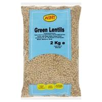 KTC Green Lentils 2kg