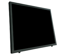 "Vigilant Vision 17"" LED Monitor with Glass Front"