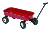 Pull Along Cart - Red