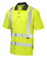 Leo ROCKHAM ISO 20471 Cl 2 Coolviz Polo Shirt