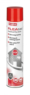 Beaphar FLEAtec Household Flea Spray 600ml x 1