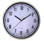 12in 24HR DIAL WHITE CLOCK