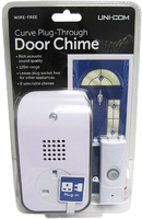 Curve Plug Through Door Chime - 62202