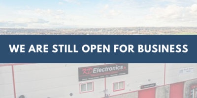 We are still open for business - March 2020